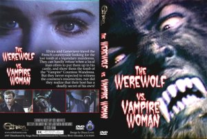 the werewolf vs vampire woman cover