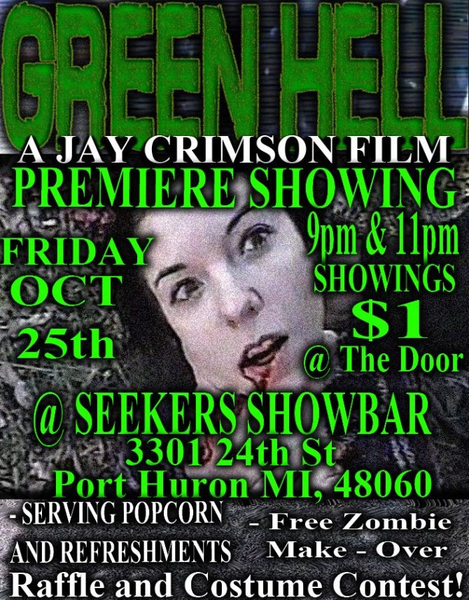 GREEN HELL FLYER